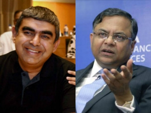 Tcs Ceo N Chandrasekaran S Salary Jumps 18 Rs 21 2 Crores Fy