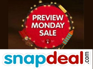 Snapdeal Preview Monday Sale Kicks Off