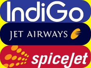 Jet Airways Indigo Airasia India Low Fare War Tickets Fro