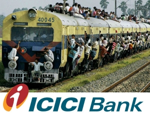Icici Bank Launches Online Rail Ticket Booking On Its Websit