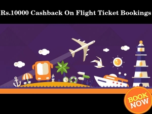 Get Rs 10000 Cashback On Flight Ticket Bookings Grab Free Coupons