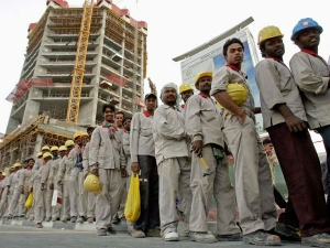 Indian Workers Gulf Down 50 Since