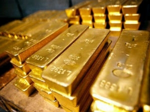 Gold Prices Hit Four Week High