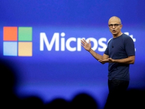 Microsoft Returns Profit From Big Loss Last Fy