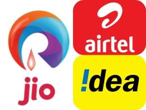 Huge Drop Airtel Idea Cellular Rcom Ahead Launch Reliance Jio