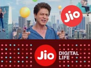 Reliance Jio 4g Advertise Featuring Shah Rukh Khan