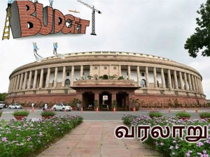 Important Budgets The History India