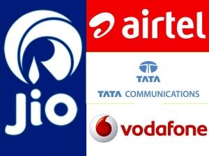 Jio Tata Oppose Airtel Voda Plea On Trai S Interconnect Usage Hc