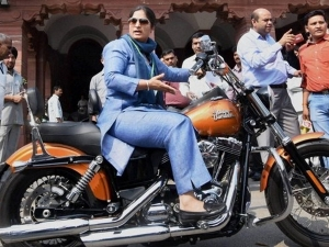 This Harley Riding Mp Is Crashing India S Wedding Plans