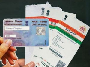 Tax Dept Offers Instant Epan Based On Aadhaar