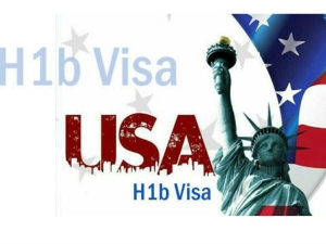 Applications H1 B Visas Be Accepted From April 3