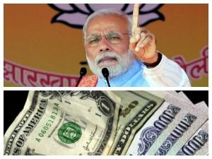 Pm Modi Victory Spurs Jump Rupee Aganist Us Dollar