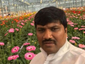 Man Who Worked At Tender Age A Flower Farm Has His Life Full