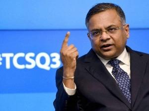 Tcs Former Ceo N Chandrasekaran Took 30 Crore As Salary 11 Months