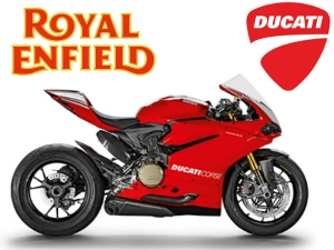 Royal Enfield Revving Up Buy Ducati