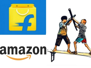 Flipkart Invites Rival Amazon India Fight