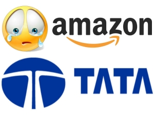 New Game With Amazon Tata Group Enters Into Online Grocery Market