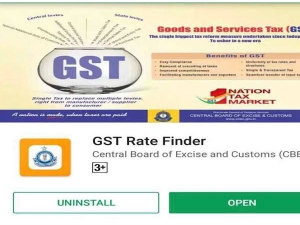 Gst Rate Finder App Launched Government Check Rates Tamil