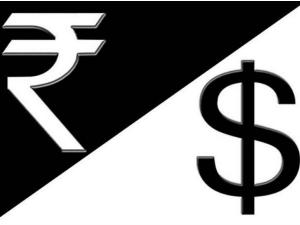 Rupee Falls 6 Month Low Against Dollar Sensex Falls Near 300 Points