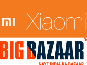 Xiaomi Partners With Big Bazaar Offline Sales Diwali