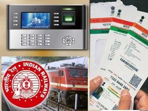 Railway Employees Log Attendance Using Aadhaar From Jan