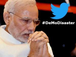 Demodisaster Is Treding On 1st Anniversary Demonetisation
