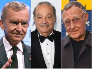 World Top 10 Richest Billionaires