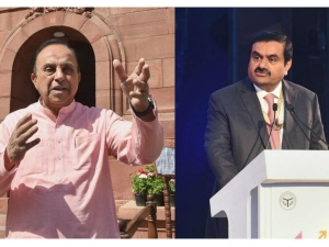 Subramanian Swamy S Single Tweet Charges Adani Group S Rs 9 761 Crore