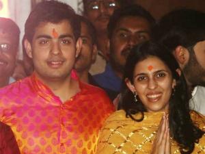 Mukesh Ambani S Son Akash Ambani Gets Engaged Shloka Mehta