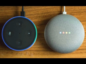 Google Launches Home Mini Rival Amazon S Echo Dot