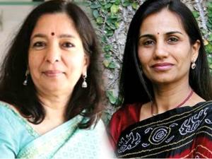 Chanda Kochhar Shikha Sharma Bad Time Two Bank Bosses