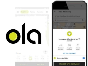 Ola Offers Trip Insurance Cover Rs 5 Lakh Re 1 How Use It