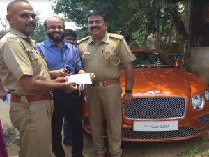 Perumbavoor Rto Collects Rs 60 Lakh Tax From Luxury Car Owne