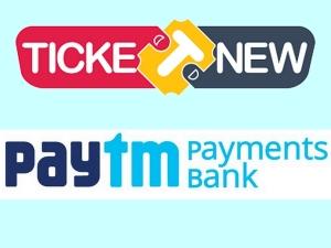 Paytm Undertake Chennai Based Ticketnew