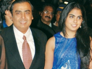 Mukesh Ambani S Dance With His Daughter Isha Video