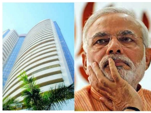 Ahead Modi Government Trust Vote Sensex Closed Flat