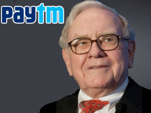 Warren Buffett May Pick Up Small Stake Paytm