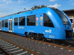 World First Hydrogen Train Hydrail Tested Germany