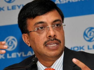 Ashok Leyland Profit At 460 Crore Rupees Q2 Ceo Resigned