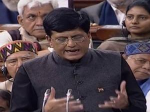 Piyush Goyals Cruel Lie His Budget Speech