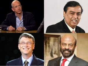 Mukesh Ambani Is 13th Anil Ambani Is 1349th Place Richest The World