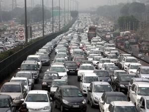 Chennai Is Fourth Place Car Density