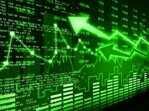 Sensex In Its Record High 39056 Nifty Shines At