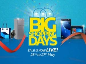 Flipkart Big Shopping Days Sale