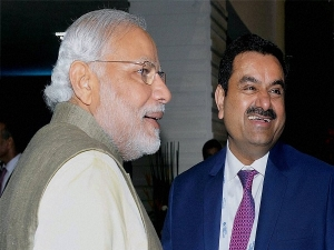 Modi Fame Directly Helping Adani To Get Richer Through Share