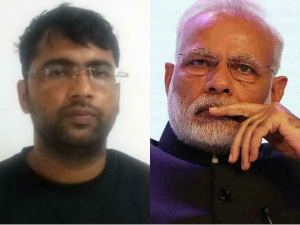 Iit Post Graduate Arrested For Offering Free Laptops Under Pm Modi Name