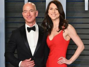Amazon Couple Jeff Bezos Mackenzie Bezoz Divorce Settlement 38 Billion World Record