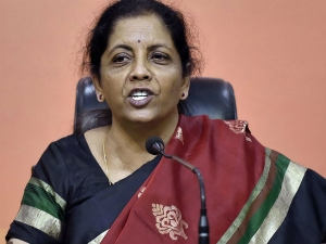 Nirmala Sitharaman Spends Large Part Of Her Budget Reply On Pchidambaram