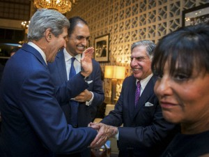John Kerry Praises Tata Creating Jobs Us