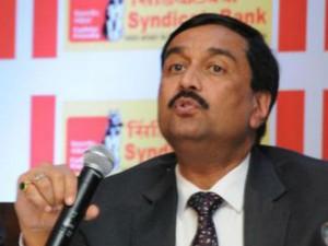 Cbi Registers Case Against Syndicate Bank Cmd